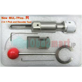 New MUL-7Pins-R 2 in 1 pick and Decoder Tool (R-UP)