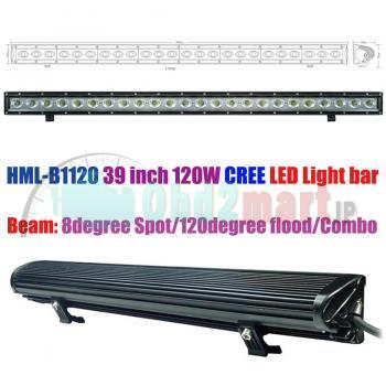HML-B1120 39 inch 120W CREE Led light bar FLOOD light SPOT light WORK light