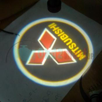 2013 Super Bright Gold Car Cree LED Logo Ghost Shadow Projector Laser Door Welcome Light