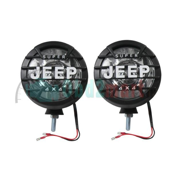 2pcs 55W H3 HID XENON Driving Lights Spotlight Offroad Lights 12V 24V 6000K