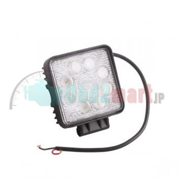 2pcs 24W flood Led Work Spot Round Light Offroads Lamp 12v/24v truck 4x4 Boat Lamp