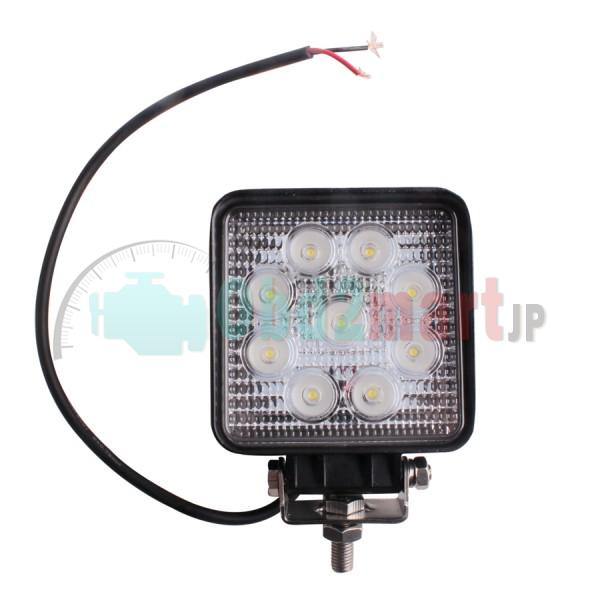 2pcs x 27w flood Led Work Light 12v/24v Off road Truck 4x4 Boat SUV lamp