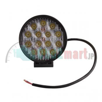 2pcs 42W flood LED Work Light 12V 24V Jeep boat offroad 4WD truck working lamp 6000K