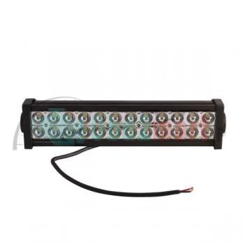 12V/24V FLOOD LED LIGHT BAR HIGH POWER ALLOY WORK LIGHT 4WD SECKELL 72W 6000K