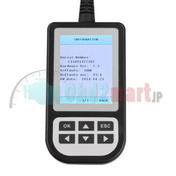 BMW MINI用OBD2故障診断機 コードスキャナーC110 V3.8「無料配送」