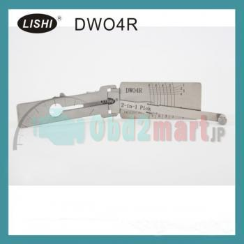 LISHI DWO4R 2-in-1 自動ピックアンドデコーダ Buick (LOVA/Excelle/GL8) Chevy対応