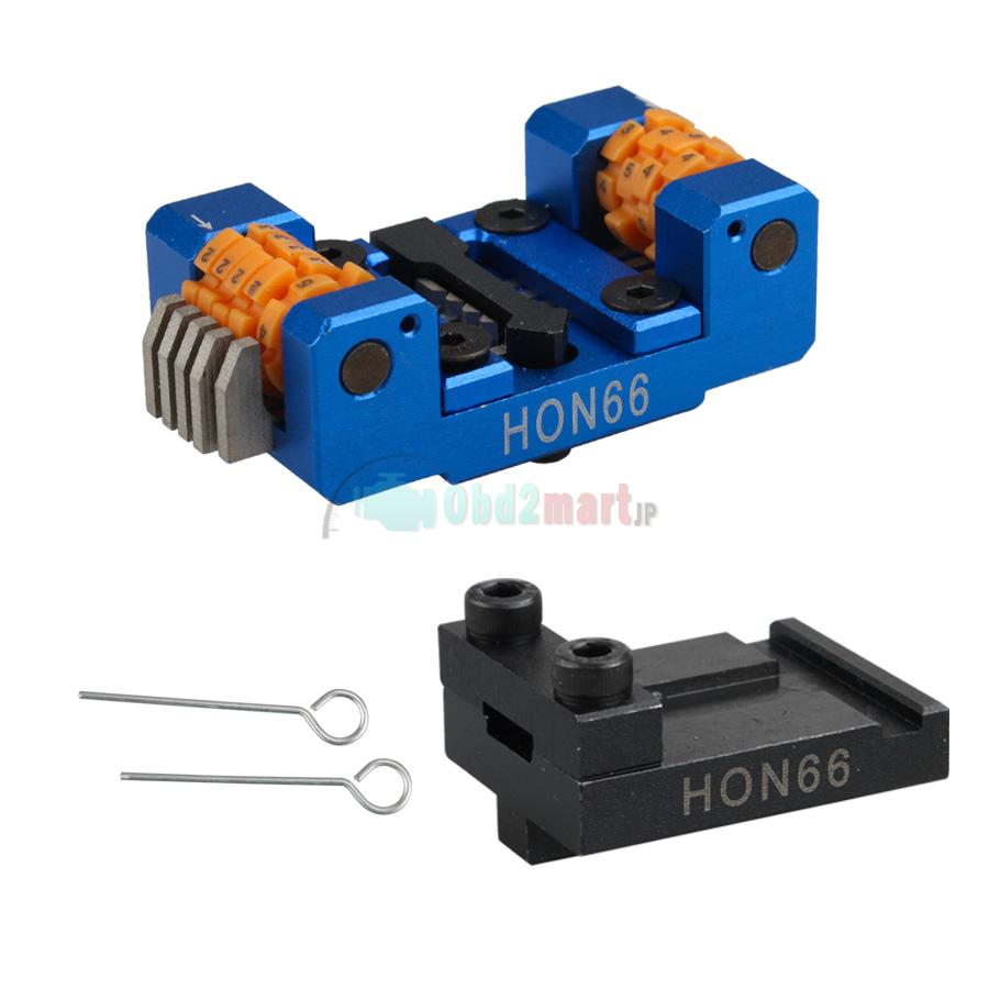 HON66 Manual Key Cutting Machine Support All Key Lost for Honda