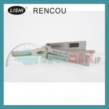 LISHI ピック開錠ツールLISHI 2-in-1 Auto Pick and Decoder for Renault(A)