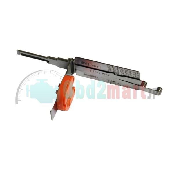 LISHI BENZ HU64 2 in 1 auto pick and Decoder