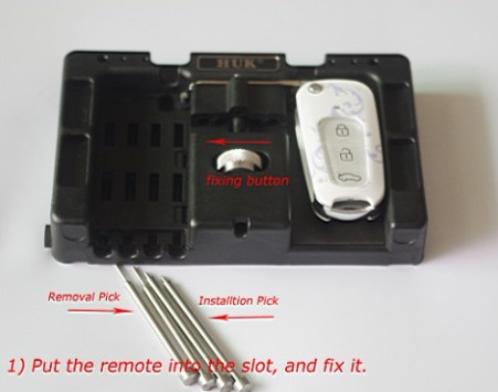 Folding Remotes Quick Removal/Installation Tool