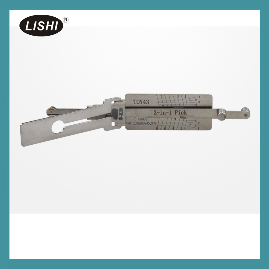LISHI TOY43 2 in 1 auto pick and decoder(8pin)
